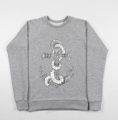 Канат  - Купить мужские свитшоты морские  в Москве, цена мужских свитшотов морских   с прикольными принтами - магазин дизайнерской одежды MaryJane