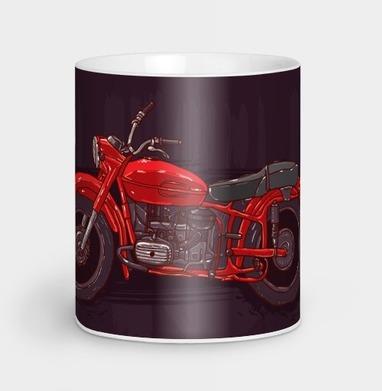 Красный мотоцикл, Кружка