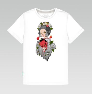 Майко , Детская футболка белая 160гр