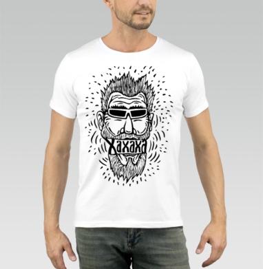Смех или хорошее настроение - Купить мужские футболки со смайлами в Москве, цена мужских футболок со смайлами с прикольными принтами - магазин дизайнерской одежды MaryJane