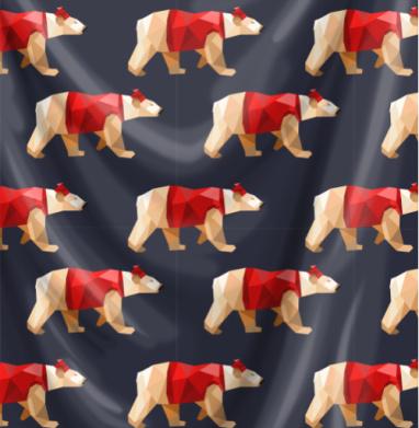 Полигональные медведи -