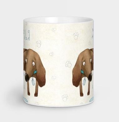Собачья жизнь - Кружки с логотипом