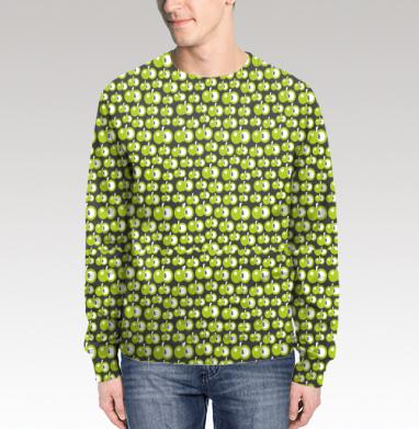 Свитшот мужской 3D - Яблочное.