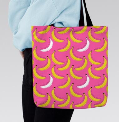 Сумка с полной запечаткой - Банановый паттерн