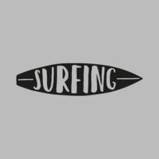 Я люблю серфинг - футболки на заказ