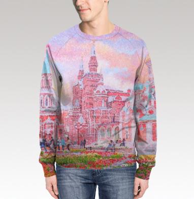 Свитшот мужской 3D - Собор Казанской иконы Божией Матери