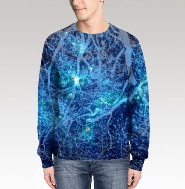 Звездный лес, Свитшот мужской 3D