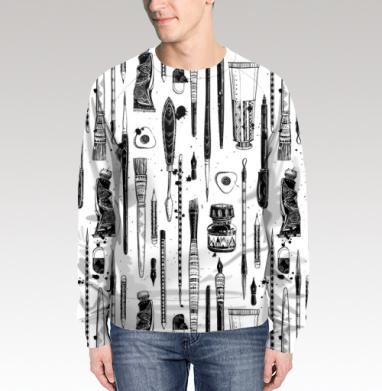 Свитшот мужской 3D, полная запечатка - Интернет магазин футболок №1 в Москве