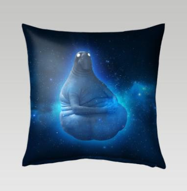 Космический Ждун - Подушки с принтом