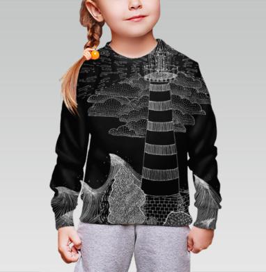 Маяк бури, Cвитшот детский без капюшона (полная запечатка)