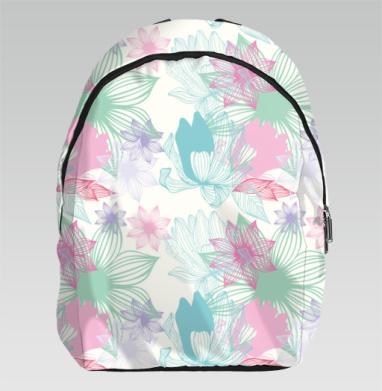 Цветочный принт - Рюкзак