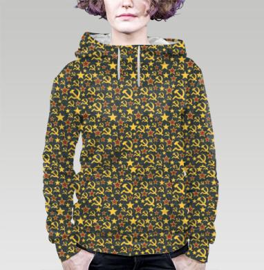 Назад в будущее., Толстовка женская с карманом 3D