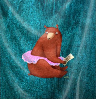 Цирковая медведица - Череп