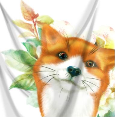 Лисёнок и розы - собаки, Популярные