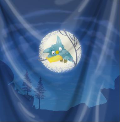 Спящая сова - персонажи, Популярные