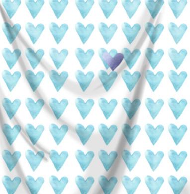 Голубое сердце -