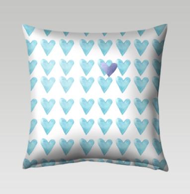 Голубое сердце, Подушка