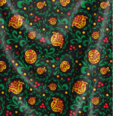 Вышивка хохлома - СССР, Популярные