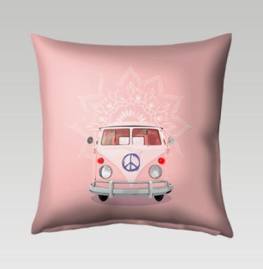 Розовый Хиппи Автобус, Подушка