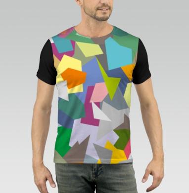 БЕЗ ПРИНТА - Купить мужские футболки 3д с хлопковыми рукавами -  недорого в интернет-магазине Мэриджейн в Москве