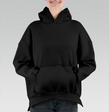 БЕЗ ПРИНТА - Hoodie Mjhigh Black, утепленная купить в Москве   Теплые худи черного цвета 🖤 с принтами и надписями в интернет-магазине Maryjane по лучшей цене