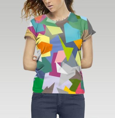 БЕЗ ПРИНТА - Купить женские футболки 3д с полной запечаткой -  недорого в интернет-магазине Мэриджейн в Москве