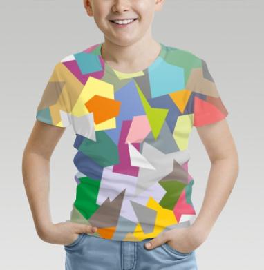 БЕЗ ПРИНТА - Детские футболки 3D v2 с полной запечаткой на заказ -  недорого в интернет-магазине Мэриджейн в Москве