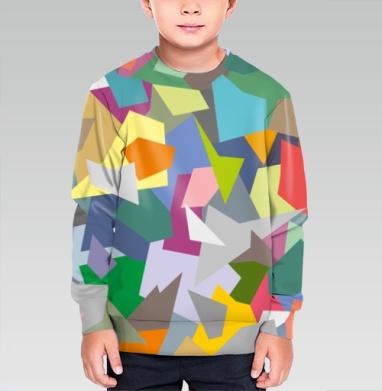 БЕЗ ПРИНТА - Cвитшот детский для мальчика 3D (v2)