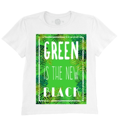 Green is the new black, Футболка мужская без бирки