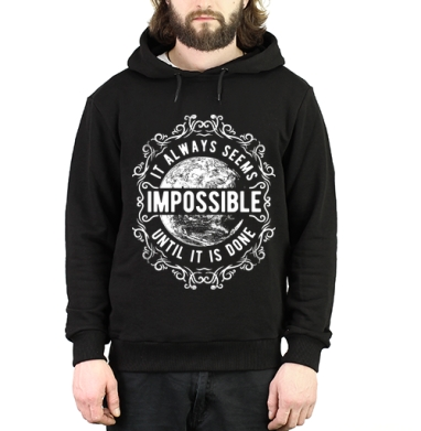 It always seems impossible, Толстовка Муж. v3 320гр