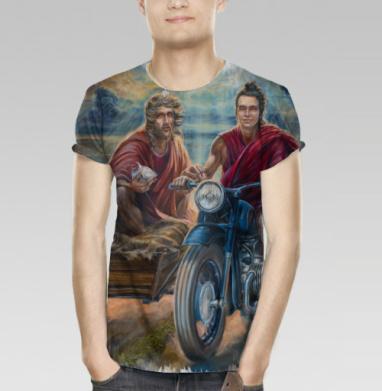 38f3588379841 Однажды всё едино - Купить мужскую футболку с 3D принтом, 3д футболки с  рисунком недорого